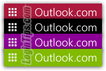 change theme color scheme in outlookcom change color scheme theme