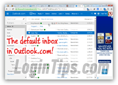 Customize your Hotmail inbox in Outlook.com